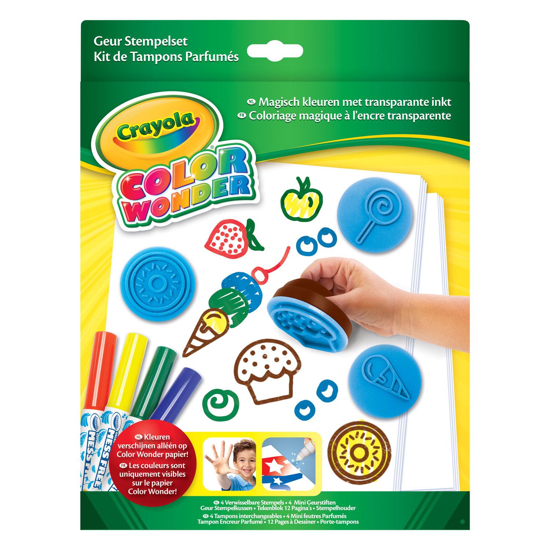 Crayola Color Wonder - Geur Stempelset online kopen | Lobbes.nl