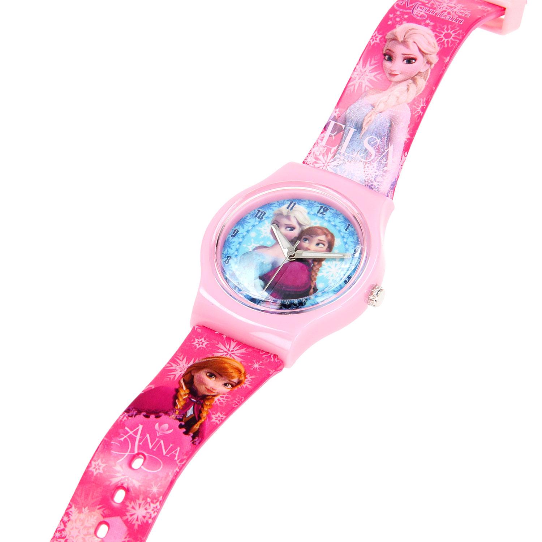 Disney Frozen Horloge Roze online kopen | Lobbes Speelgoed