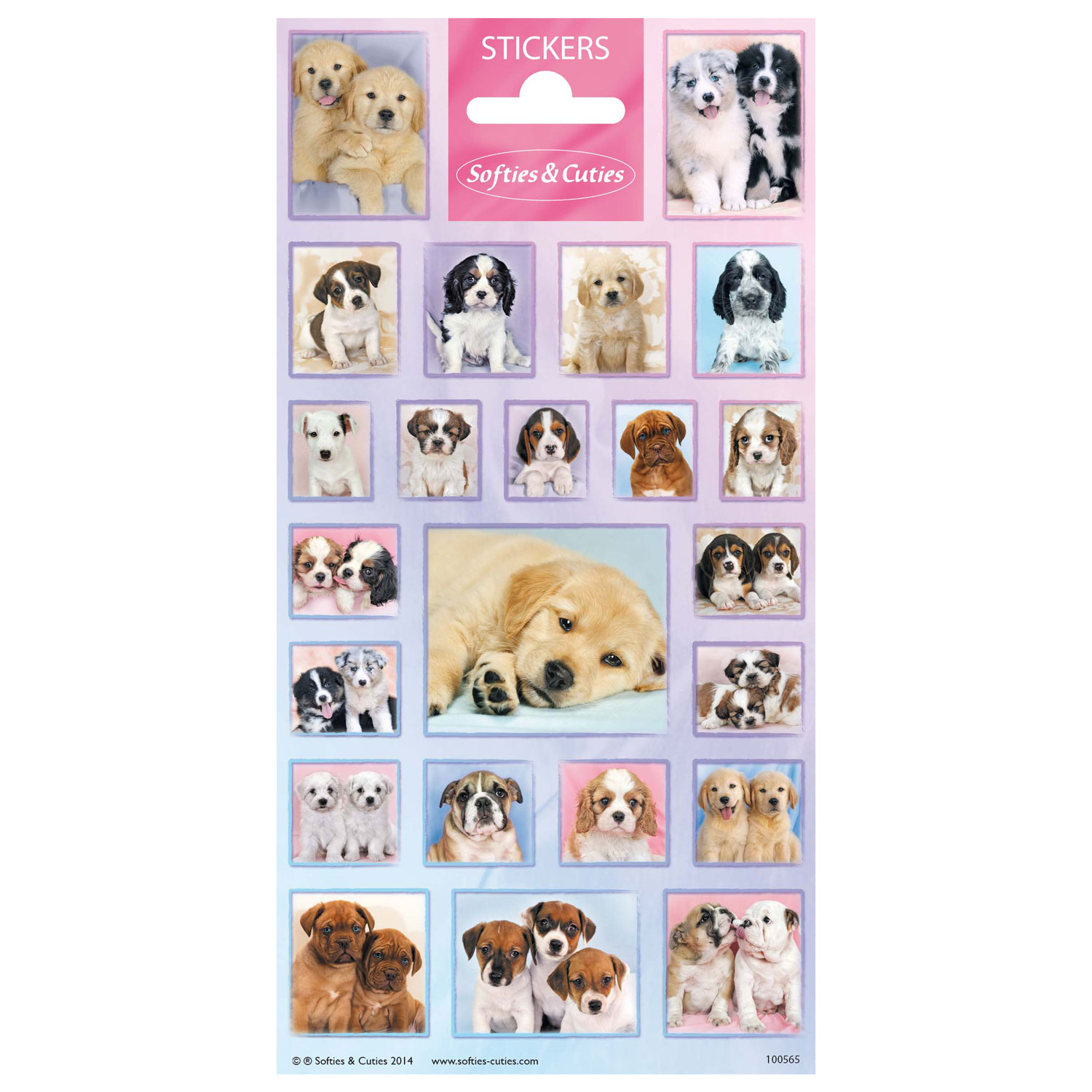 Stickervel Cutie Puppies