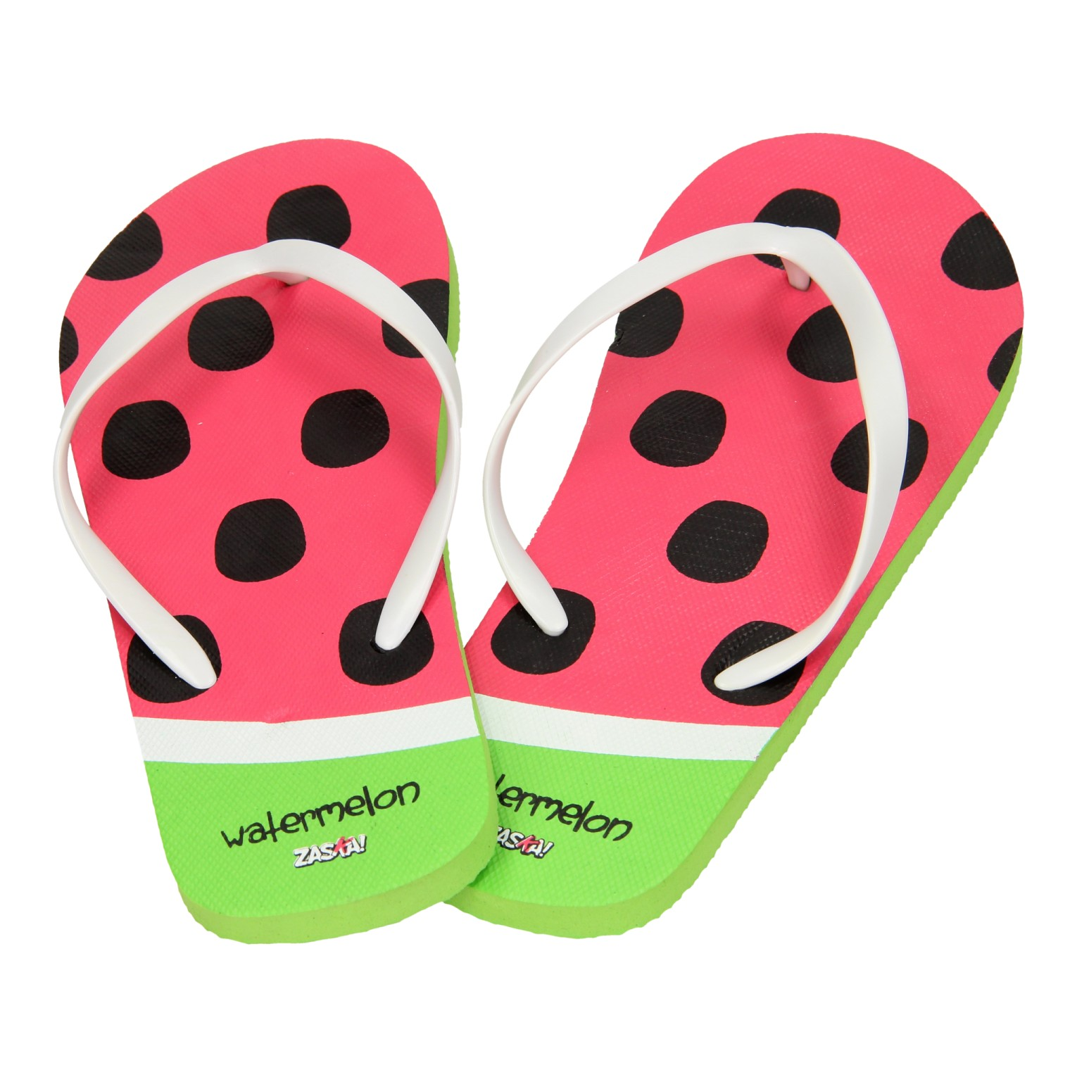 Teenslippers Watermeloen, maat 42