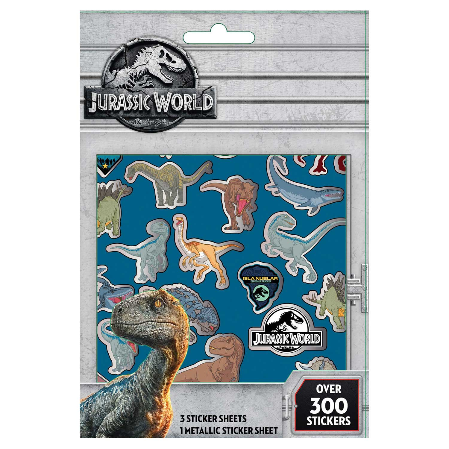 Stickervellen Jurrasic World