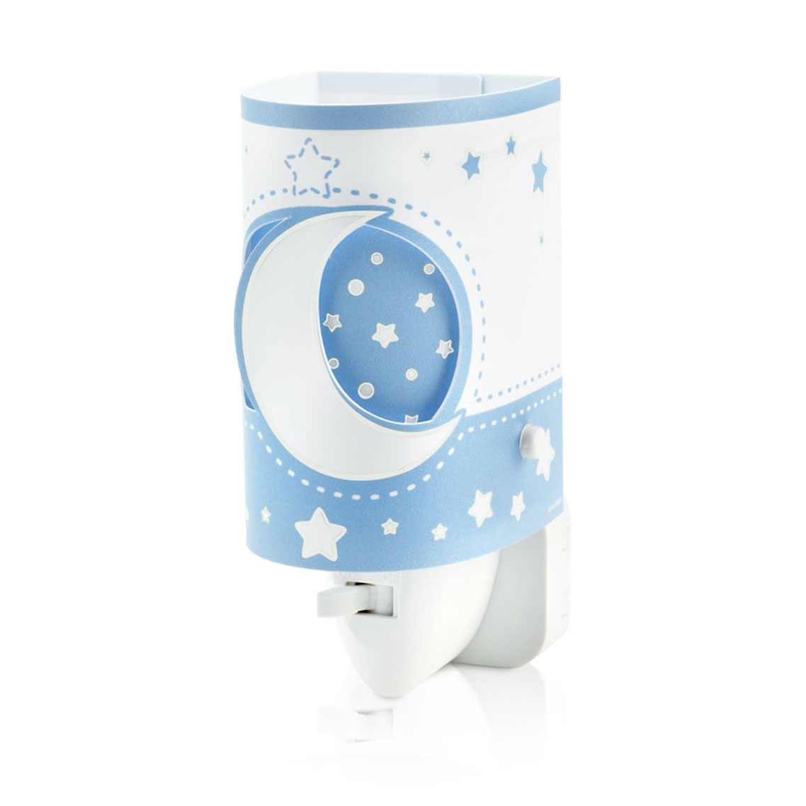 Dalber Nachtlamp LED Maanlicht Glow in the Dark Blauw