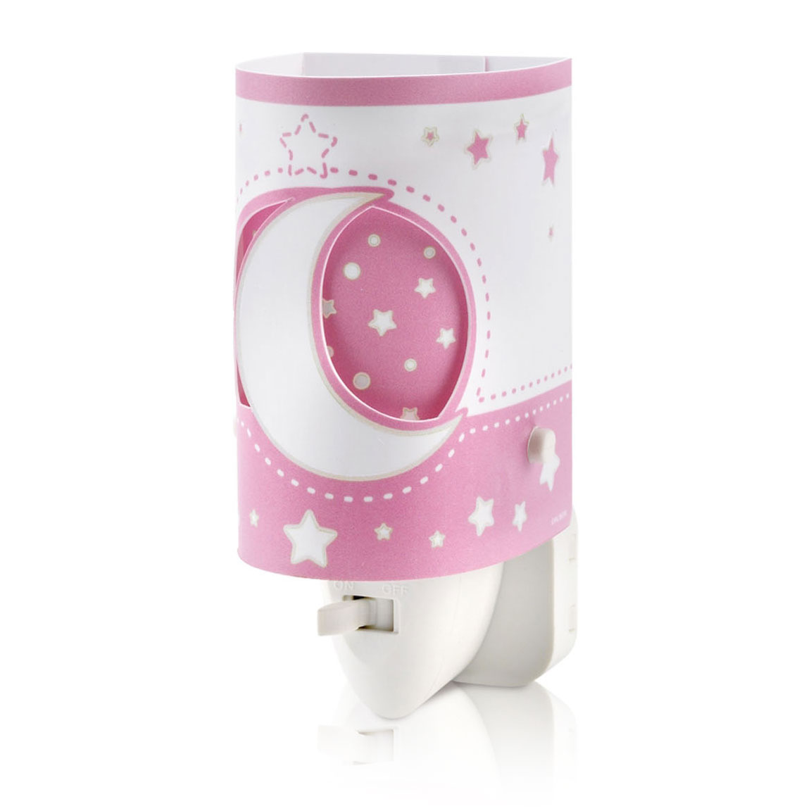 Dalber Nachtlamp LED Maanlicht Glow in the Dark Roze