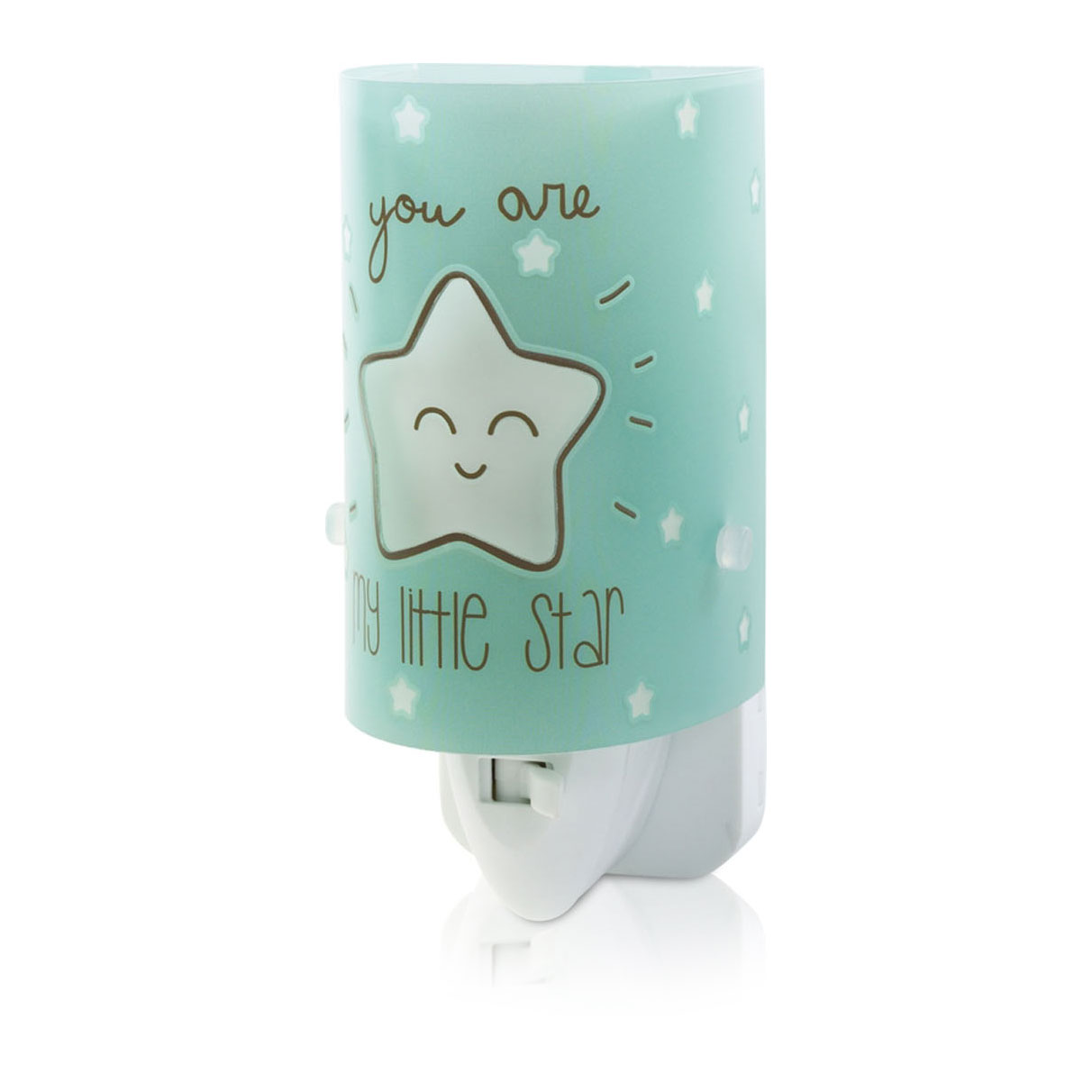 Dalber Nachtlamp Ster Glow in the Dark Turquoise