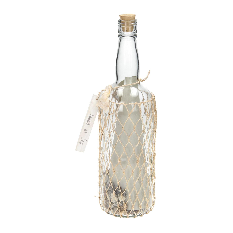 Glazen decoratie fles met label groot online kopen for Decoratie fles