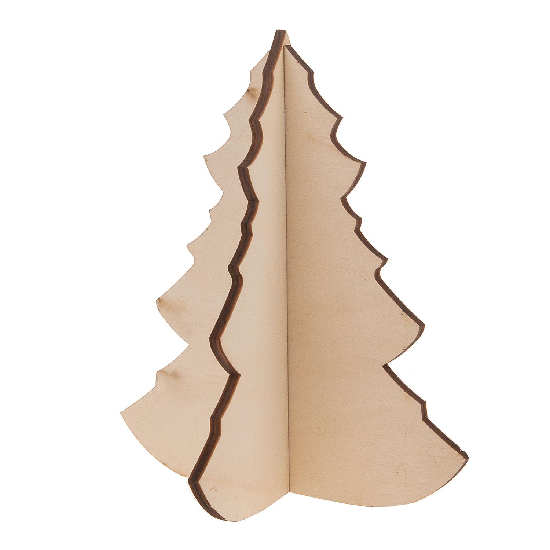 Houten Kerstboom 3d Online Kopen Lobbes Wonen
