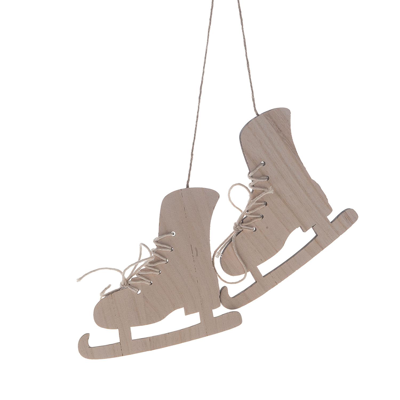 7abcdfd8dd1 Houten Hanger met 2 Schaatsen online kopen | Lobbeswonen.nl