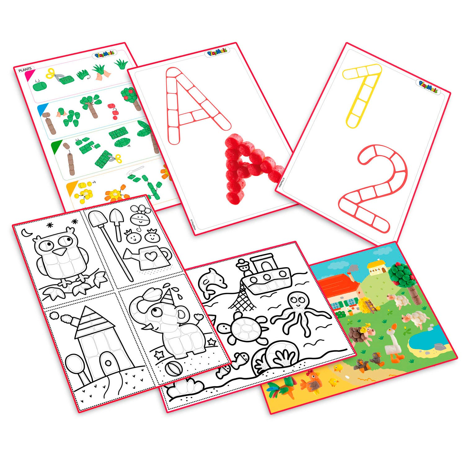 PlayMais Eduline Classic Instructieboek
