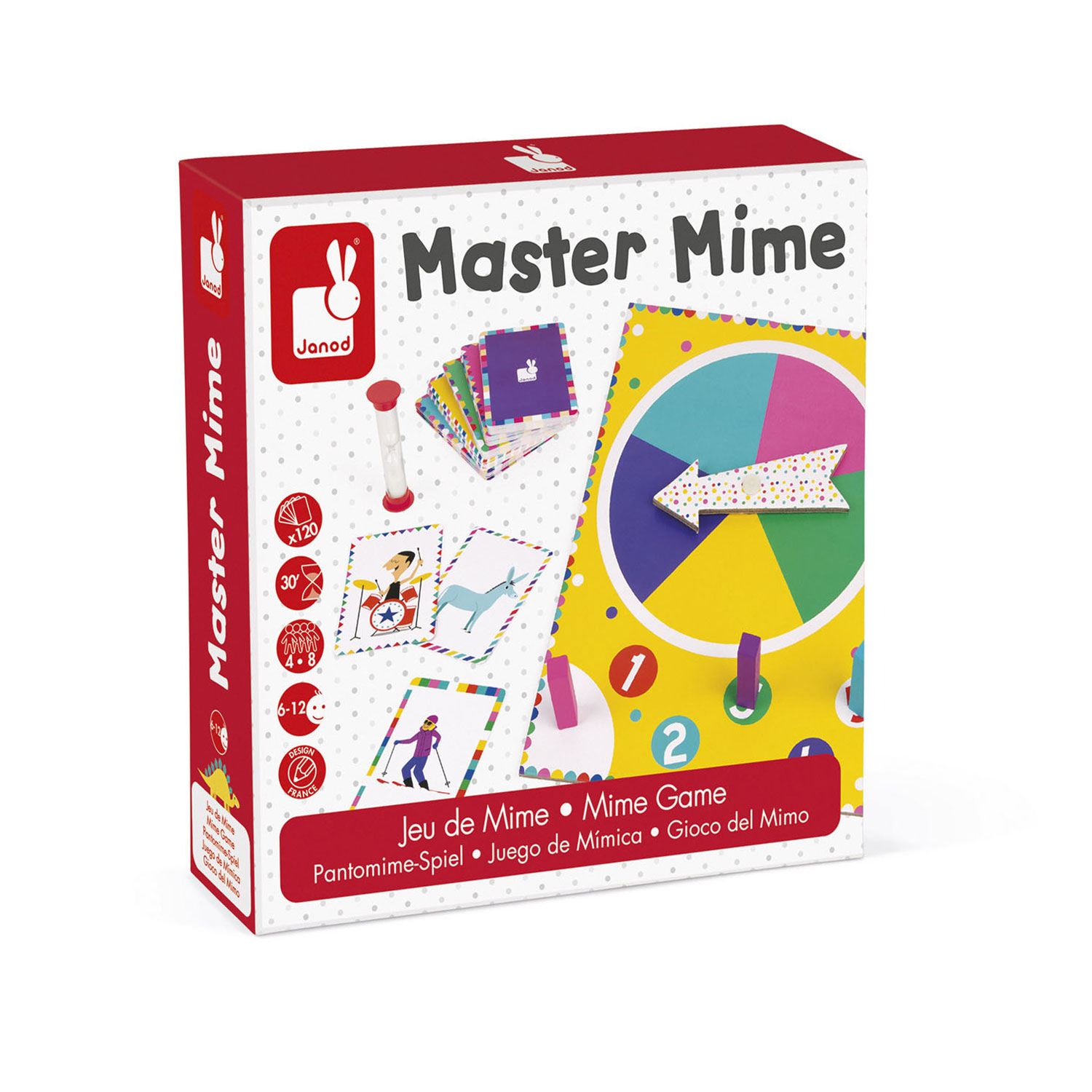 Janod Spel - Master Mime