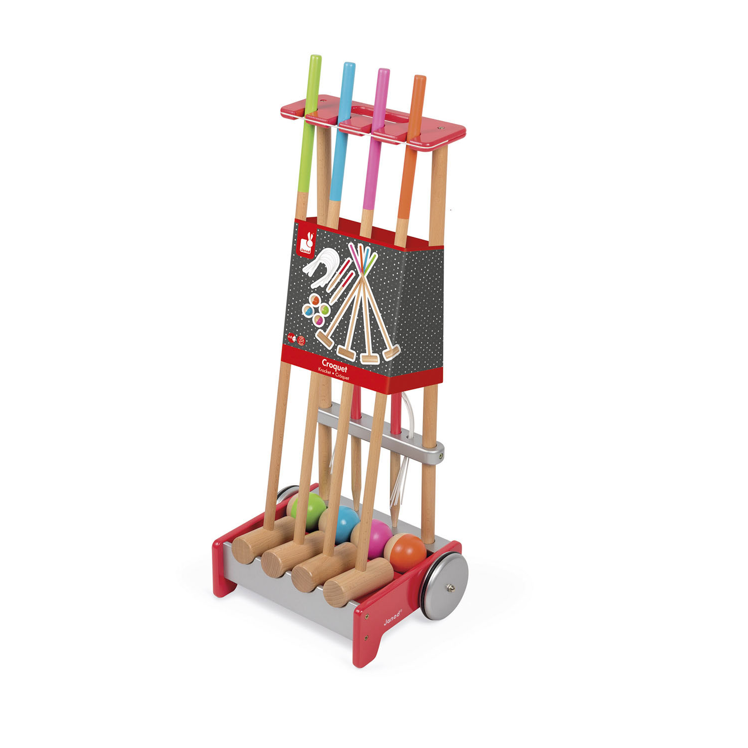 Janod Croquet Trolley