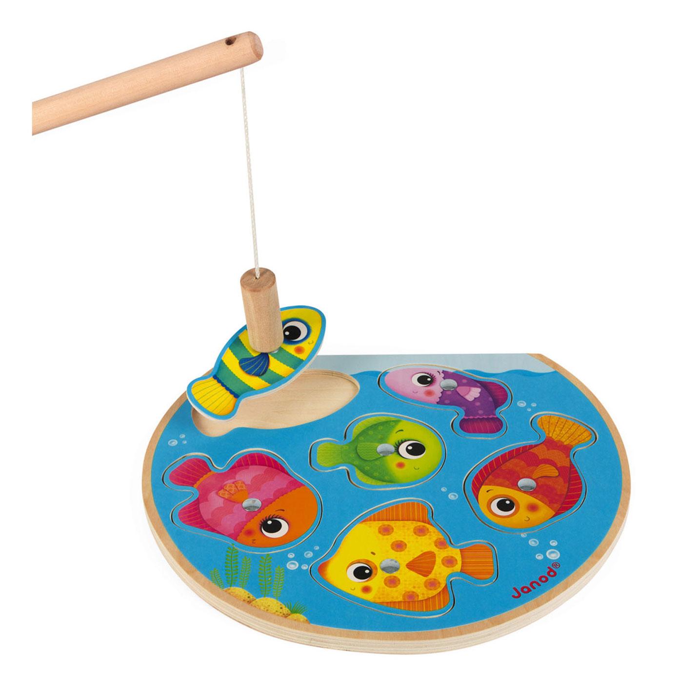 Janod Magnetisch Puzzelspel Snelle Vissen