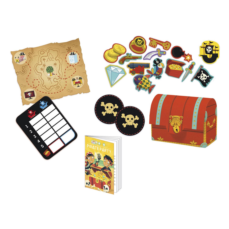 Wonderbaar Djeco Piratenfeest Spellen, 5in1 online kopen | Lobbes Speelgoed JN-74