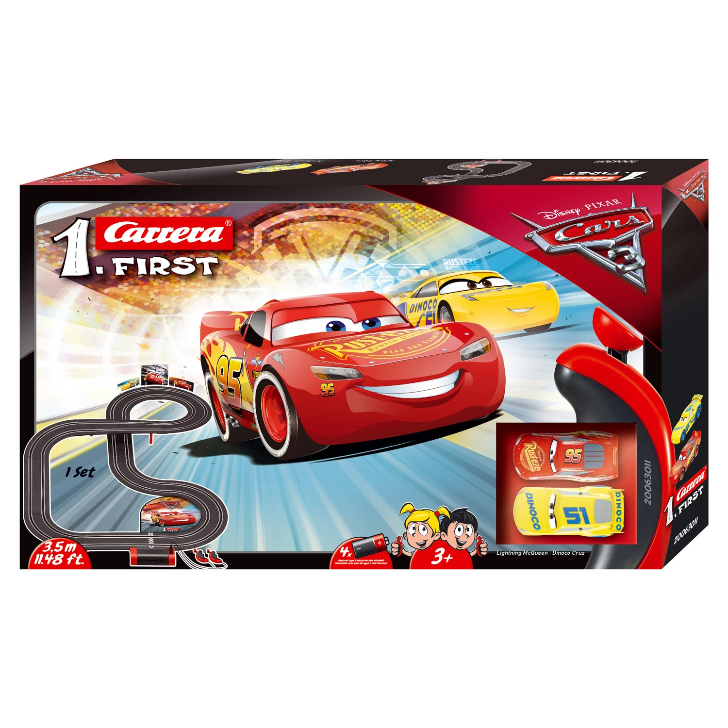 Carrera First Racebaan - Cars 3