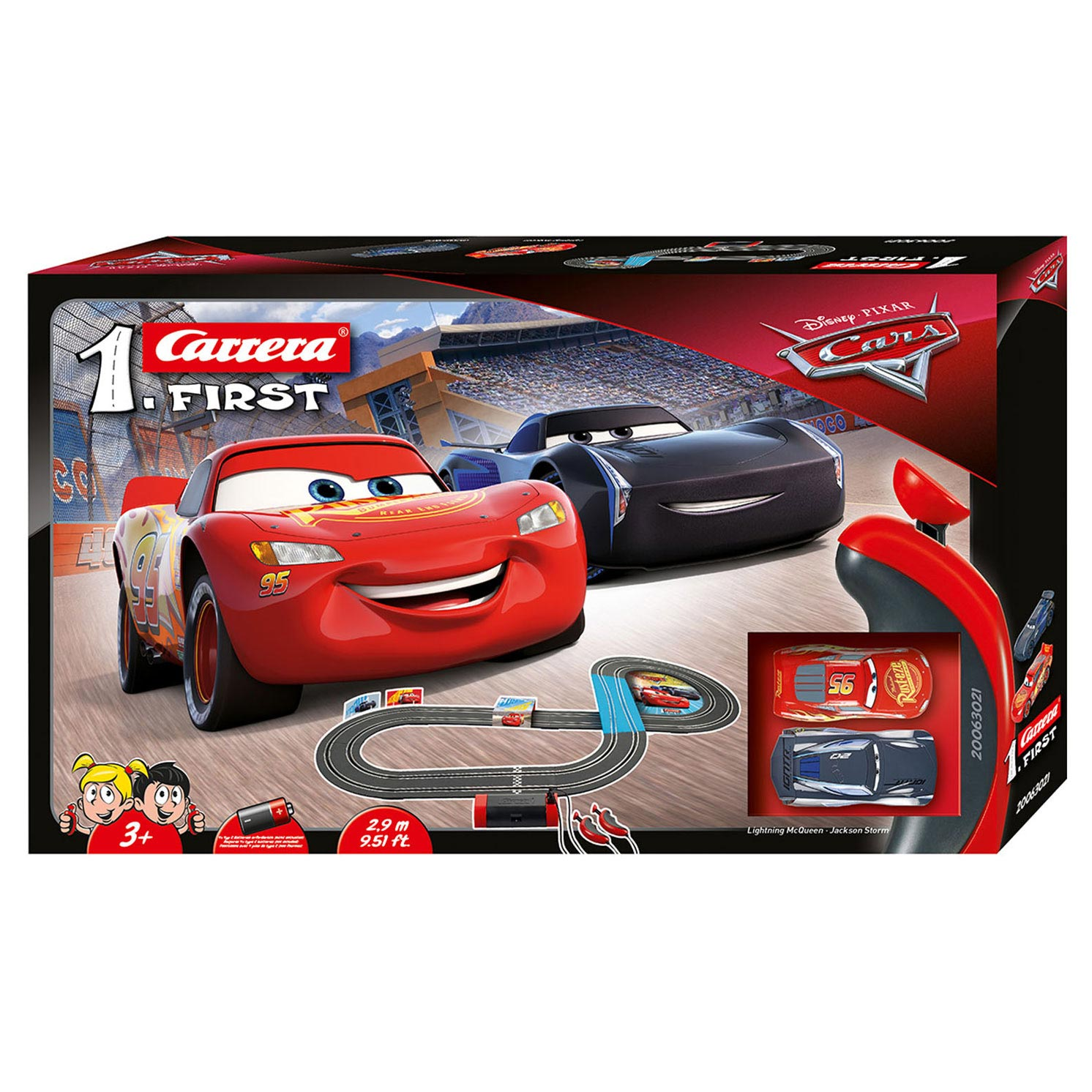 Carrera First Racebaan - Cars