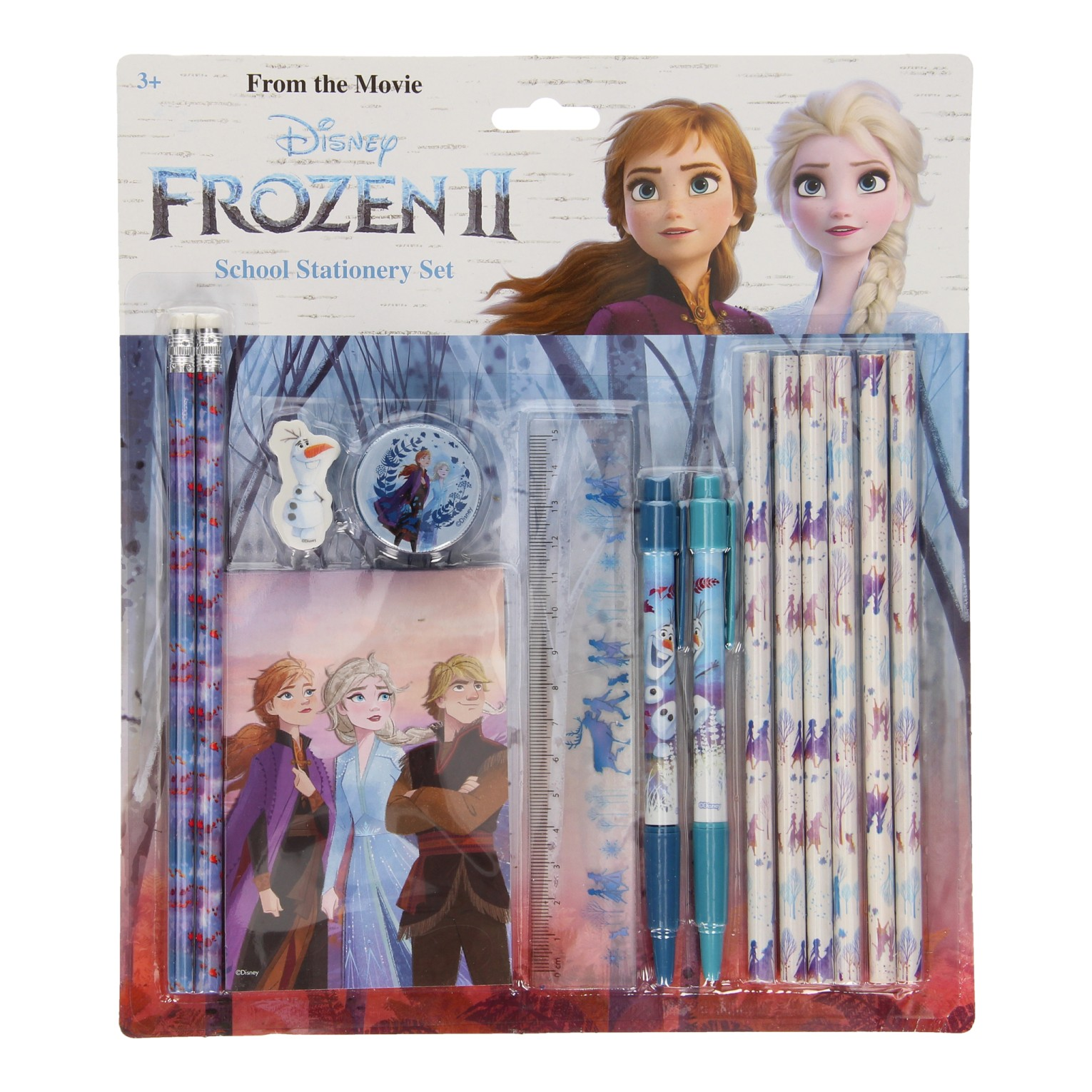 Frozen 2 School Stationary Set