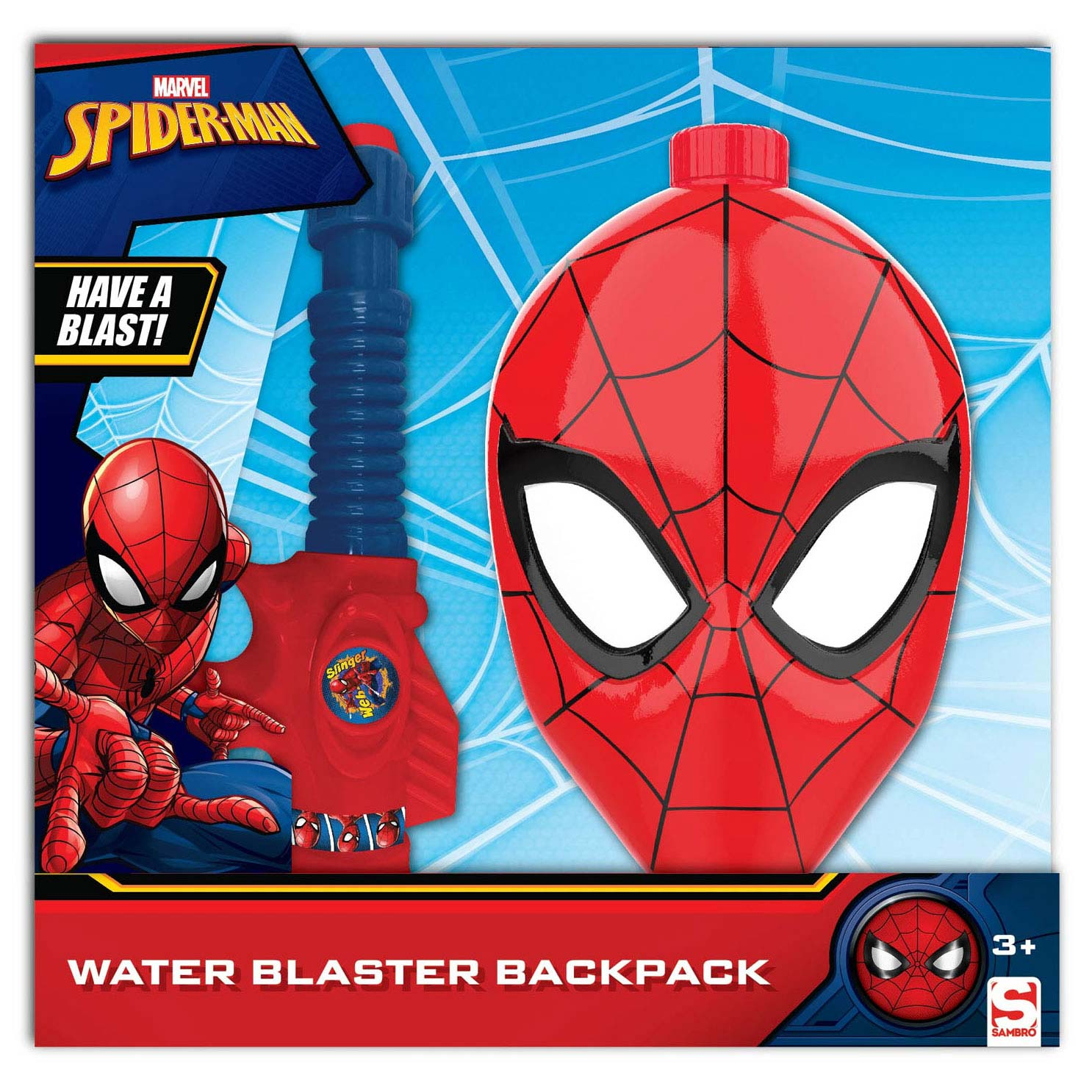 Waterpistool met Tank Spiderman