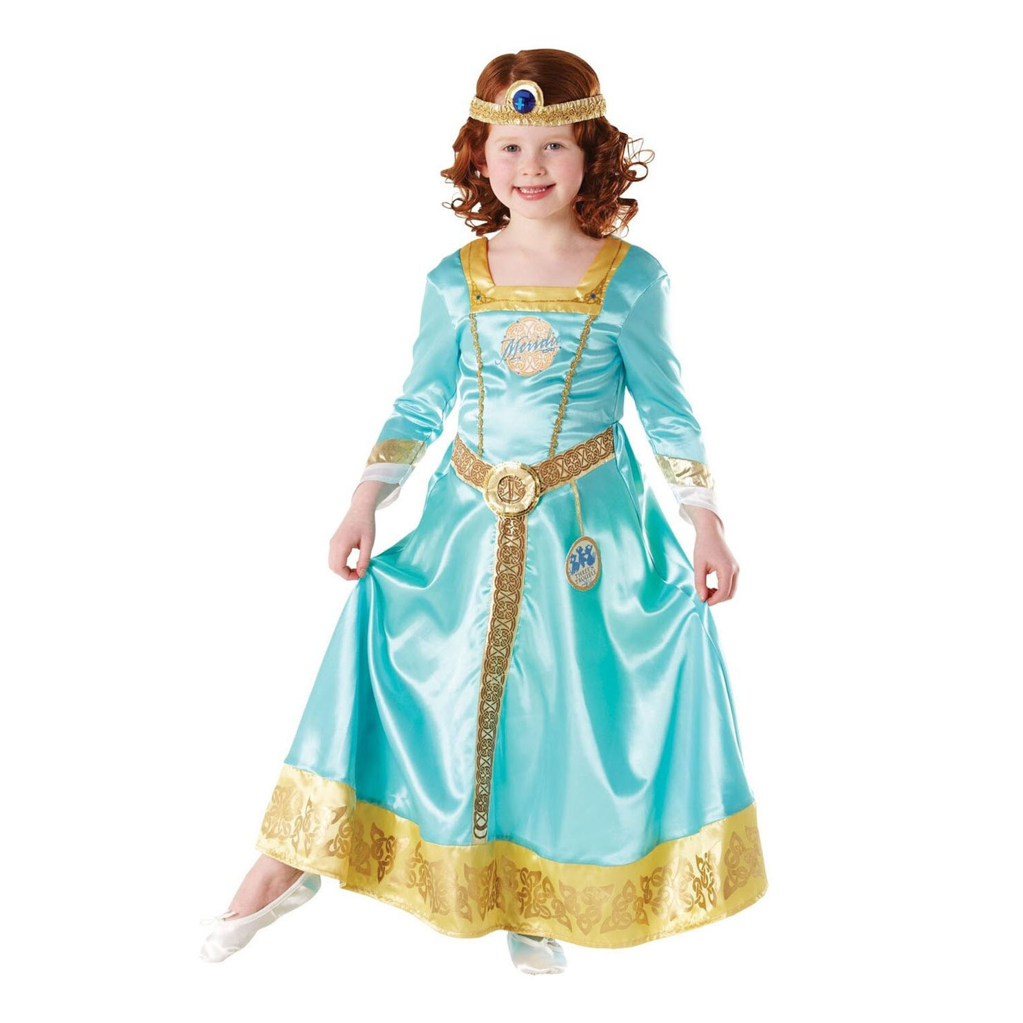 Kinderkostuum Disney Prinses Merida, 3-4 jaar