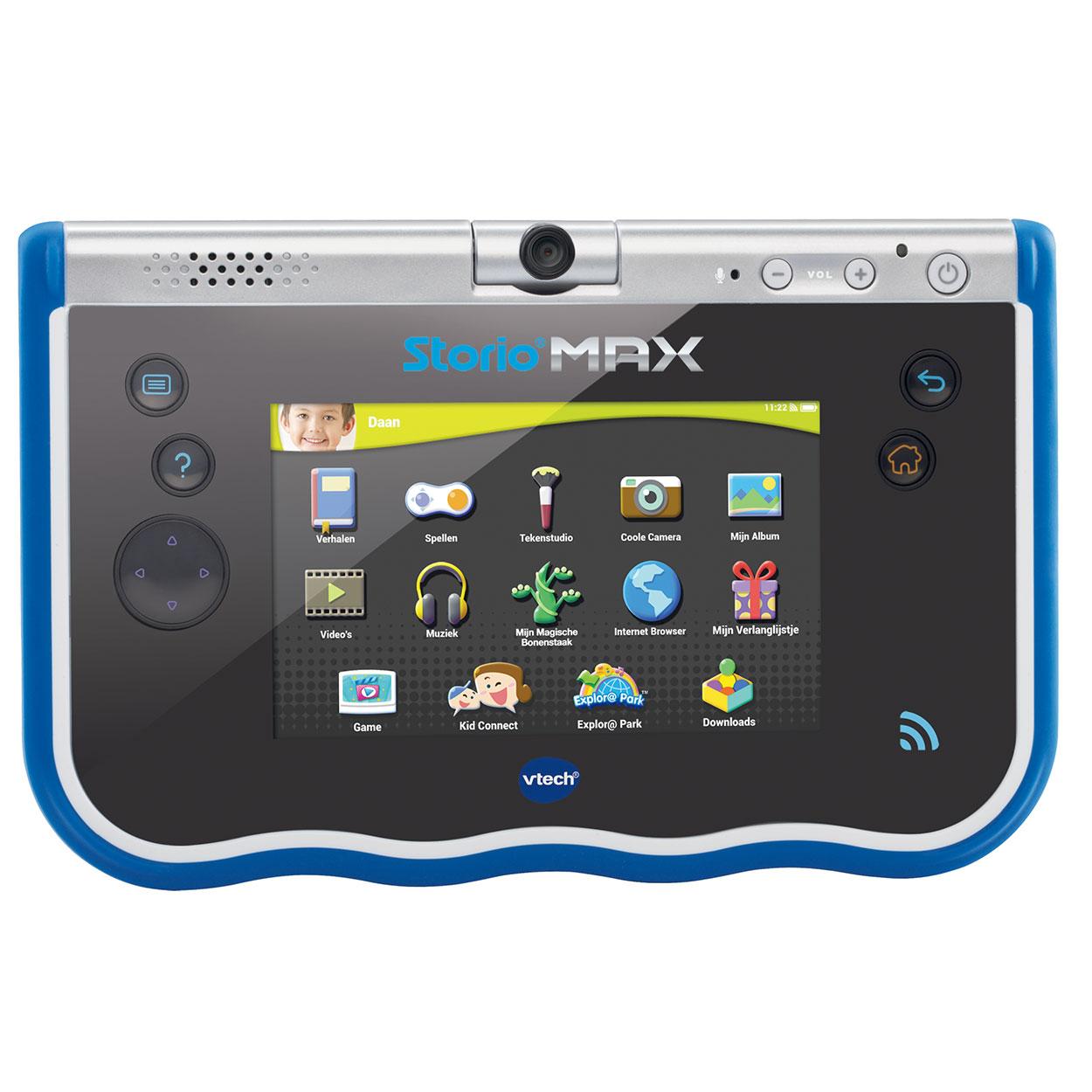 Vtech storio max 5 nl blauw online kopen for Housse storio max 5