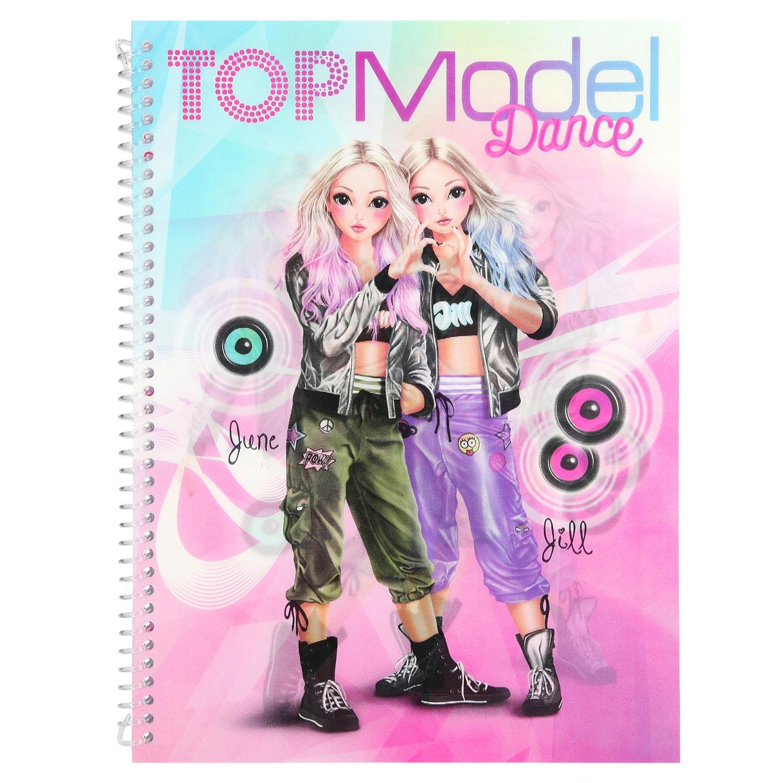 Kleurplaten Topmodelen.Topmodel Dance Special Kleurboek Online Kopen Lobbes Nl
