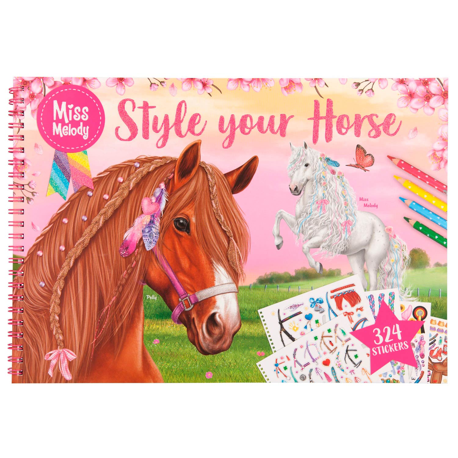 Miss Melody Style Your Horse Kleurboek