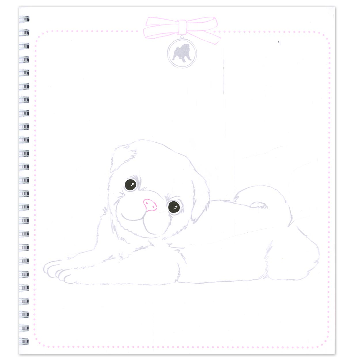 Create Your Topmodel Doggy Colouring Book Online Kopen