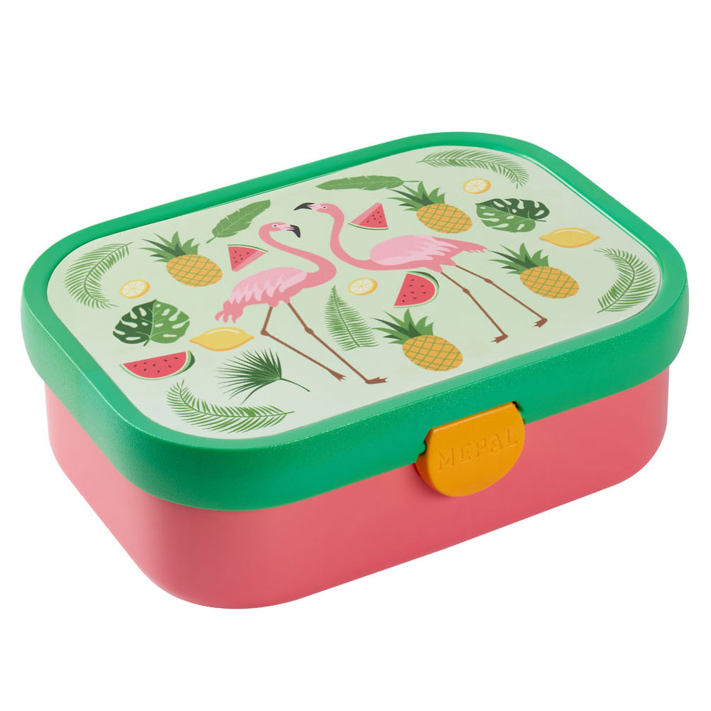 Mepal Campus Lunchbox - Tropical Flamingo