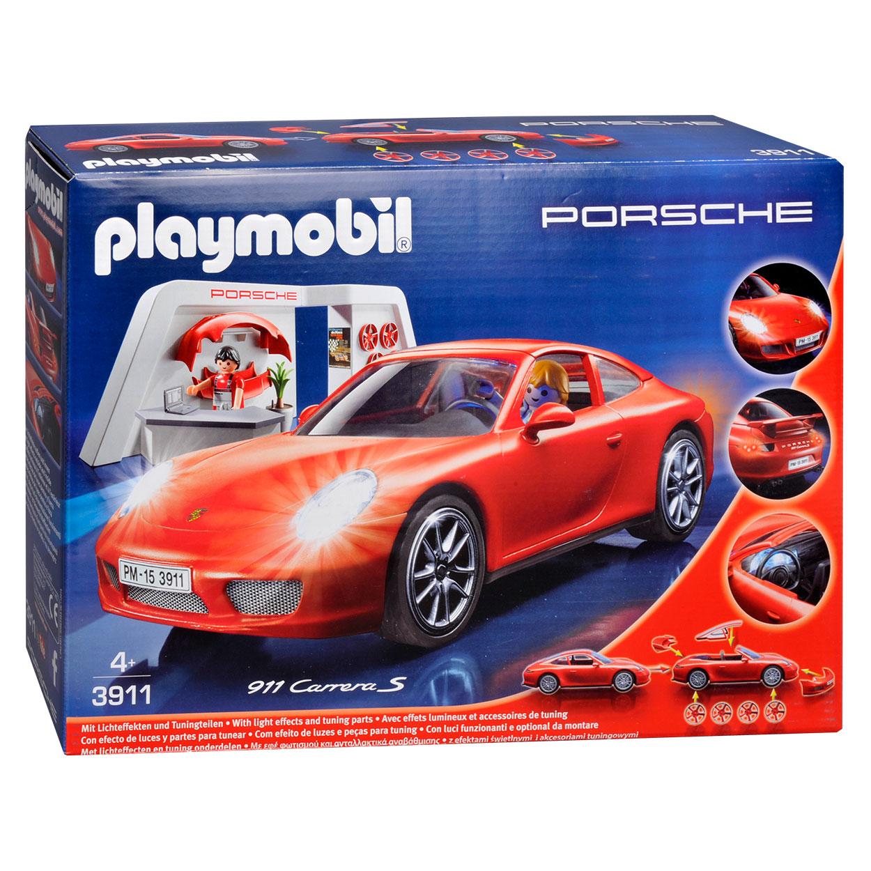 playmobil 3911 porsche 911 carrera s online kopen. Black Bedroom Furniture Sets. Home Design Ideas
