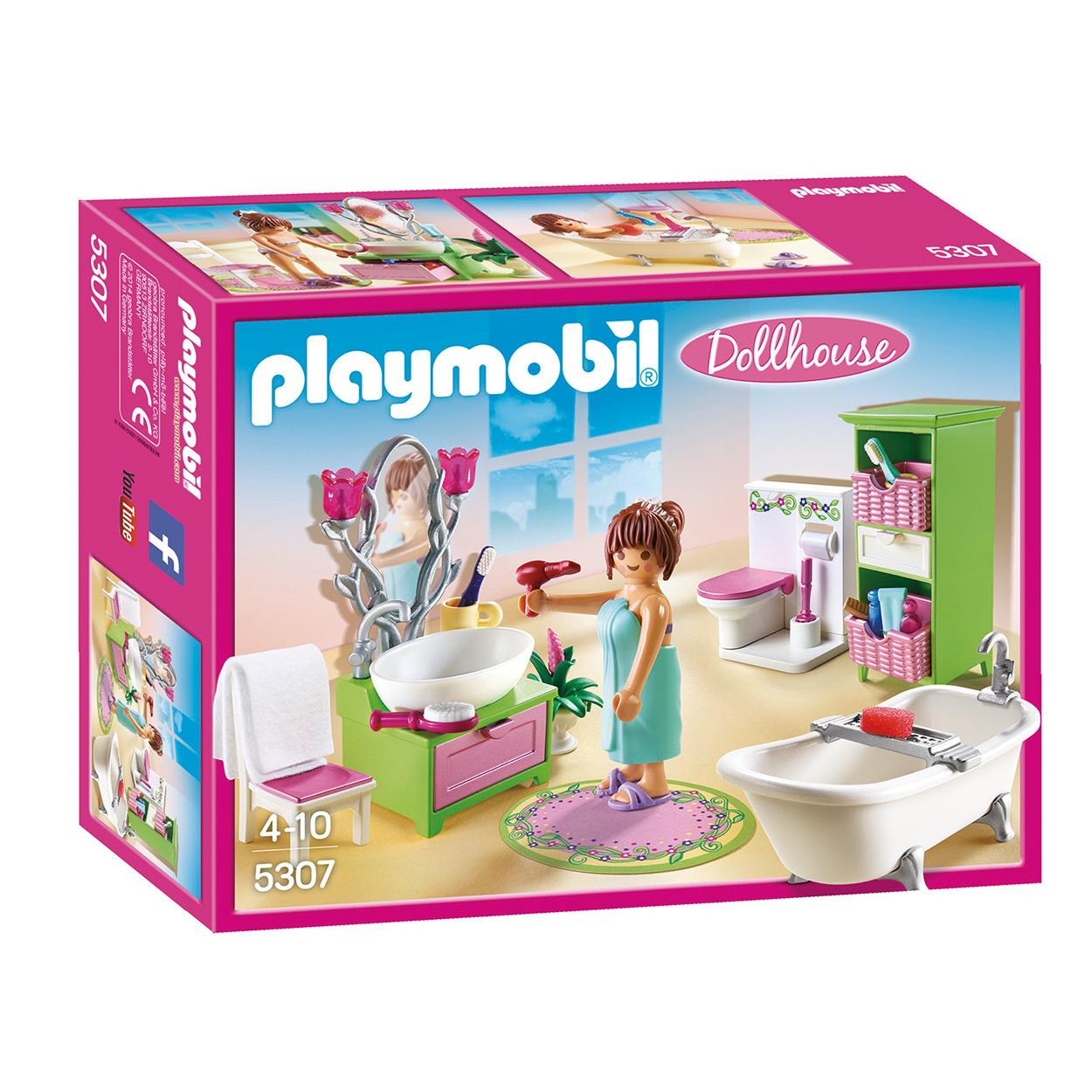 Playmobil 5307 Badkamer met bad op pootjes online kopen | Lobbes.nl