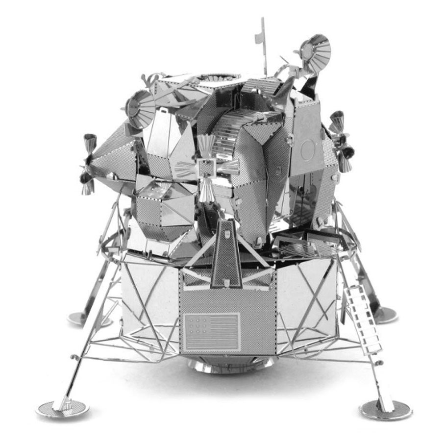 Metal Earth Apollo Lunar Module Zilver Editie