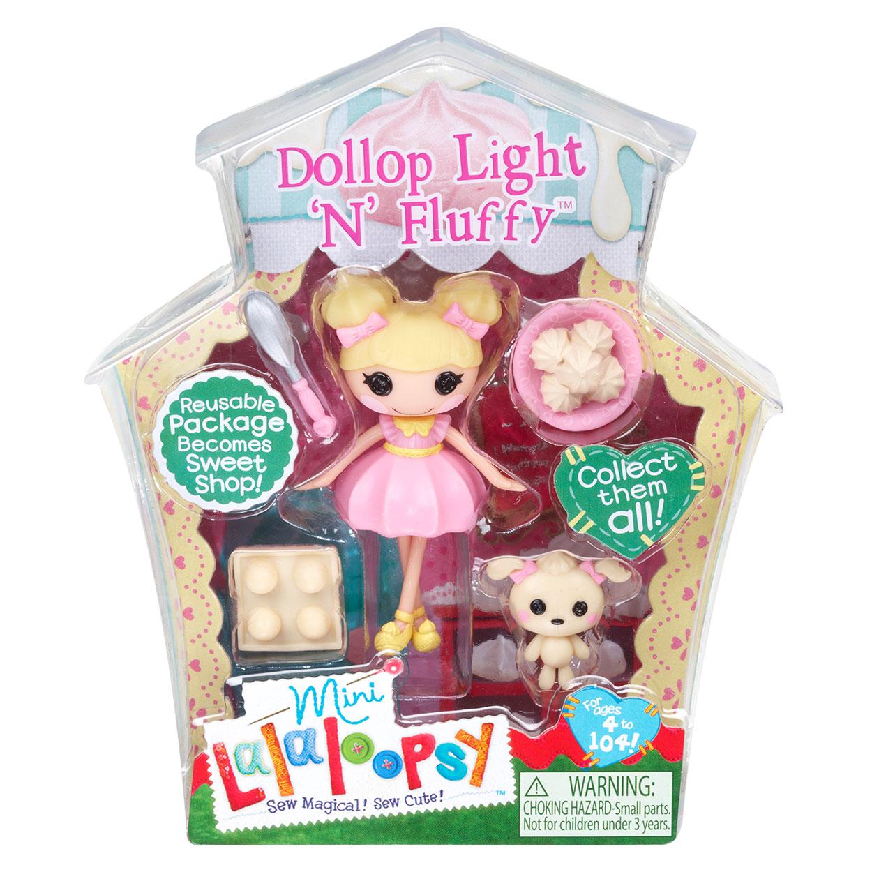 Mini Lalaloopsy - Dollop Light  n FluffyLalaloopsy Dollop Light N Fluffy