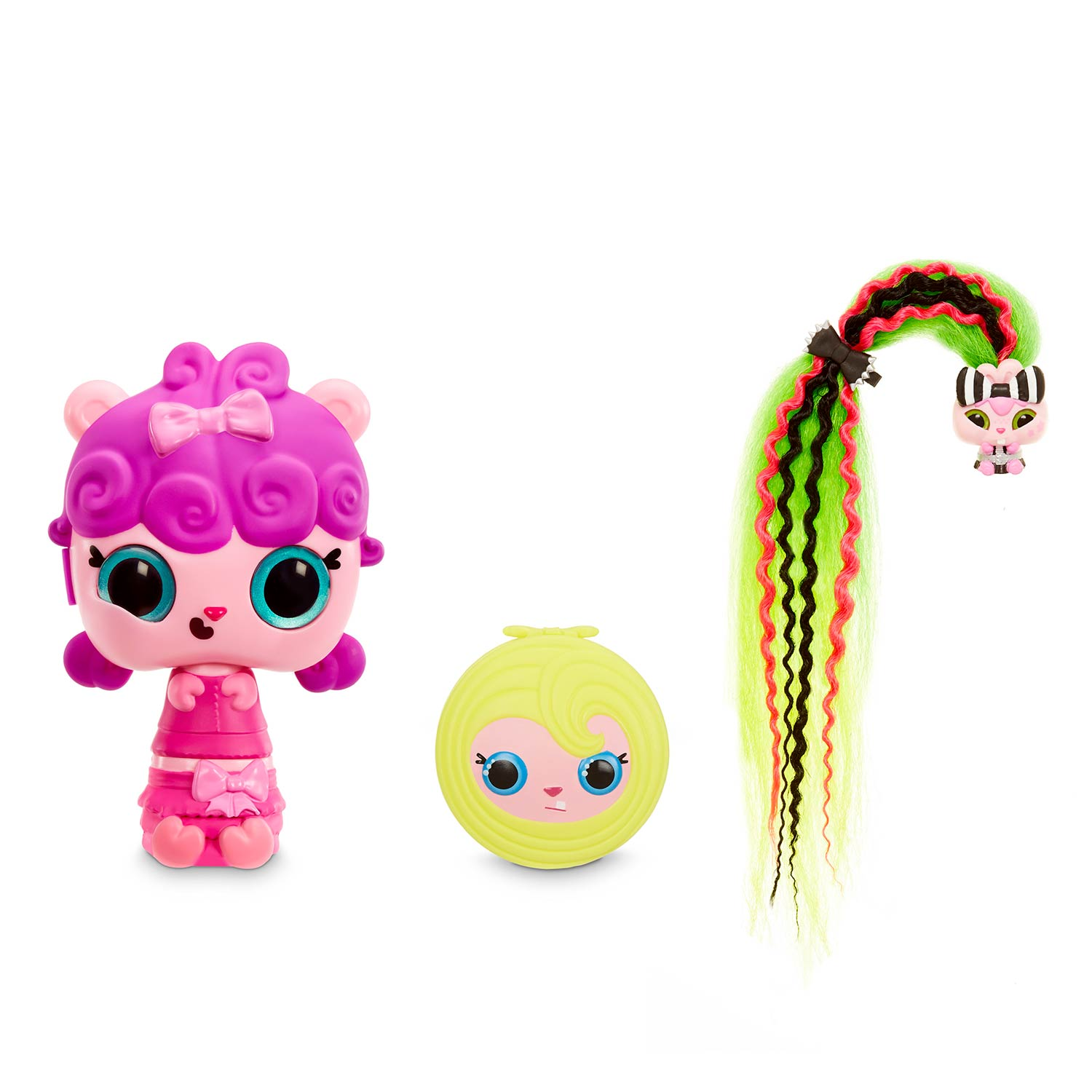 Pop Pop Hair Surprise 3in1