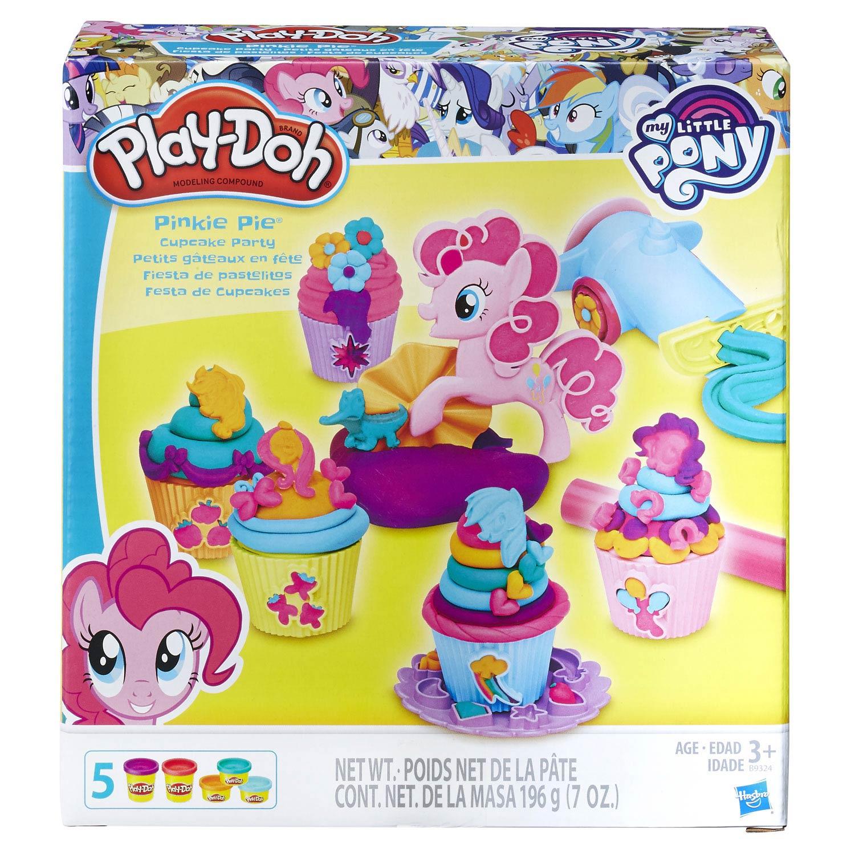PlayDoh Pinkie Pie Cupcake Party
