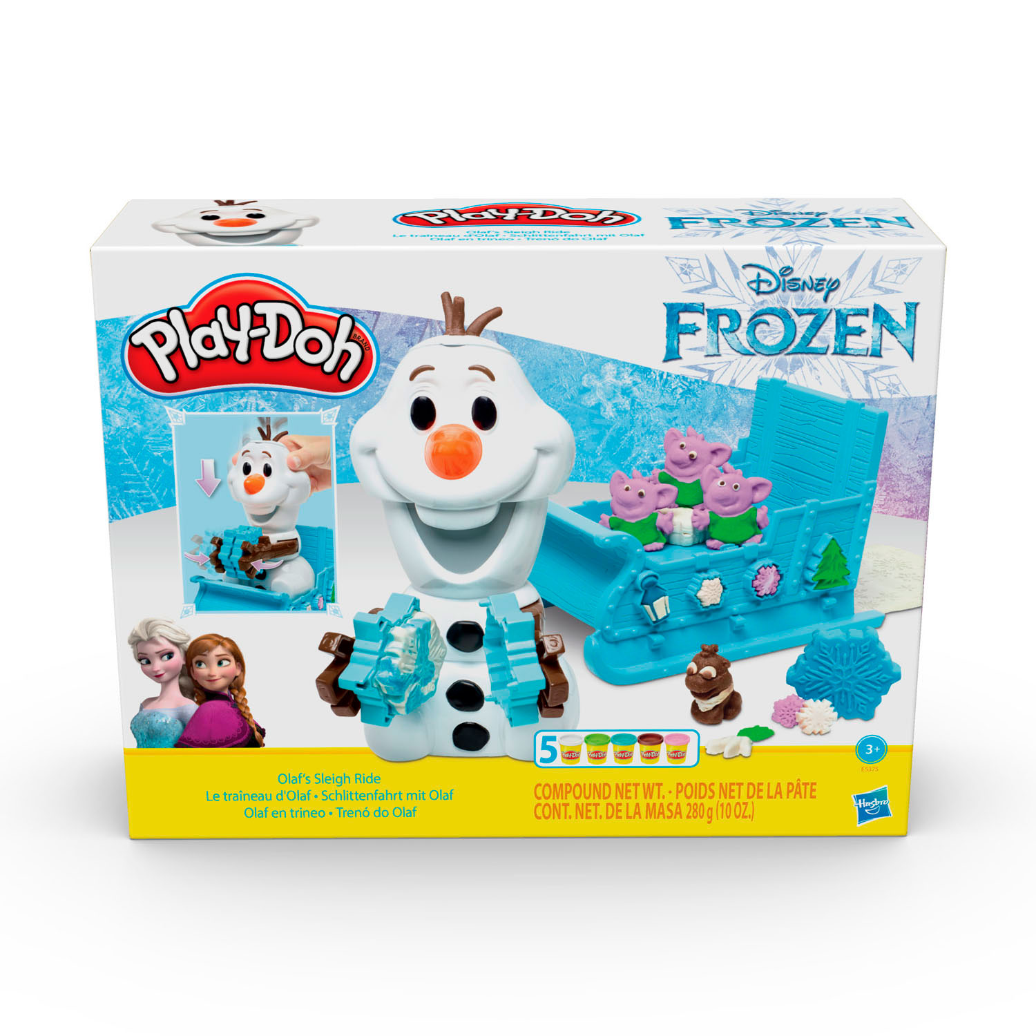 Play-Doh Frozen 2 Olaf Speelset