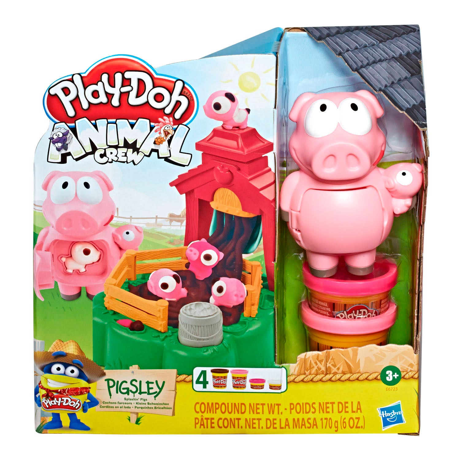 Play-Doh Animal Crew Biggenbende