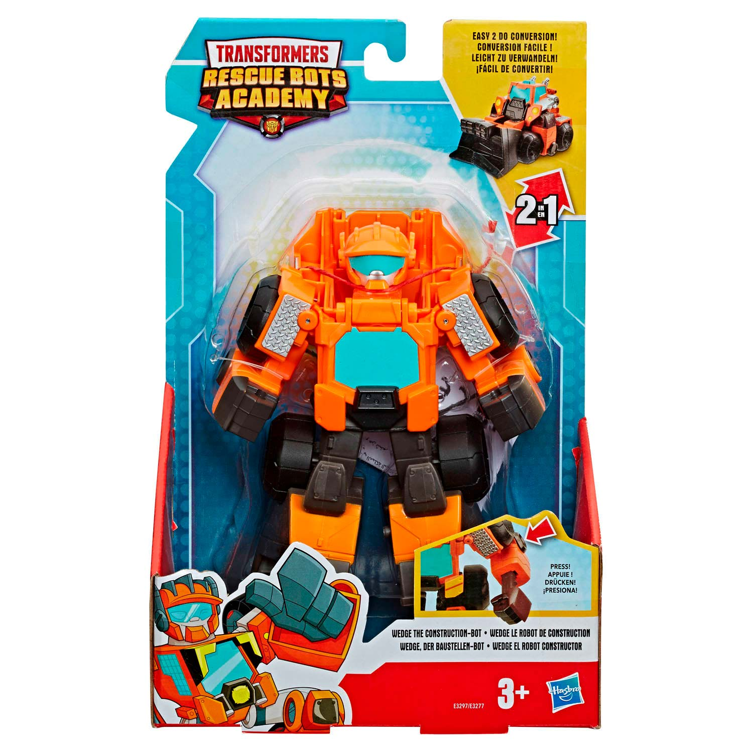 Transformers Rescue Bots Academy - Wedge