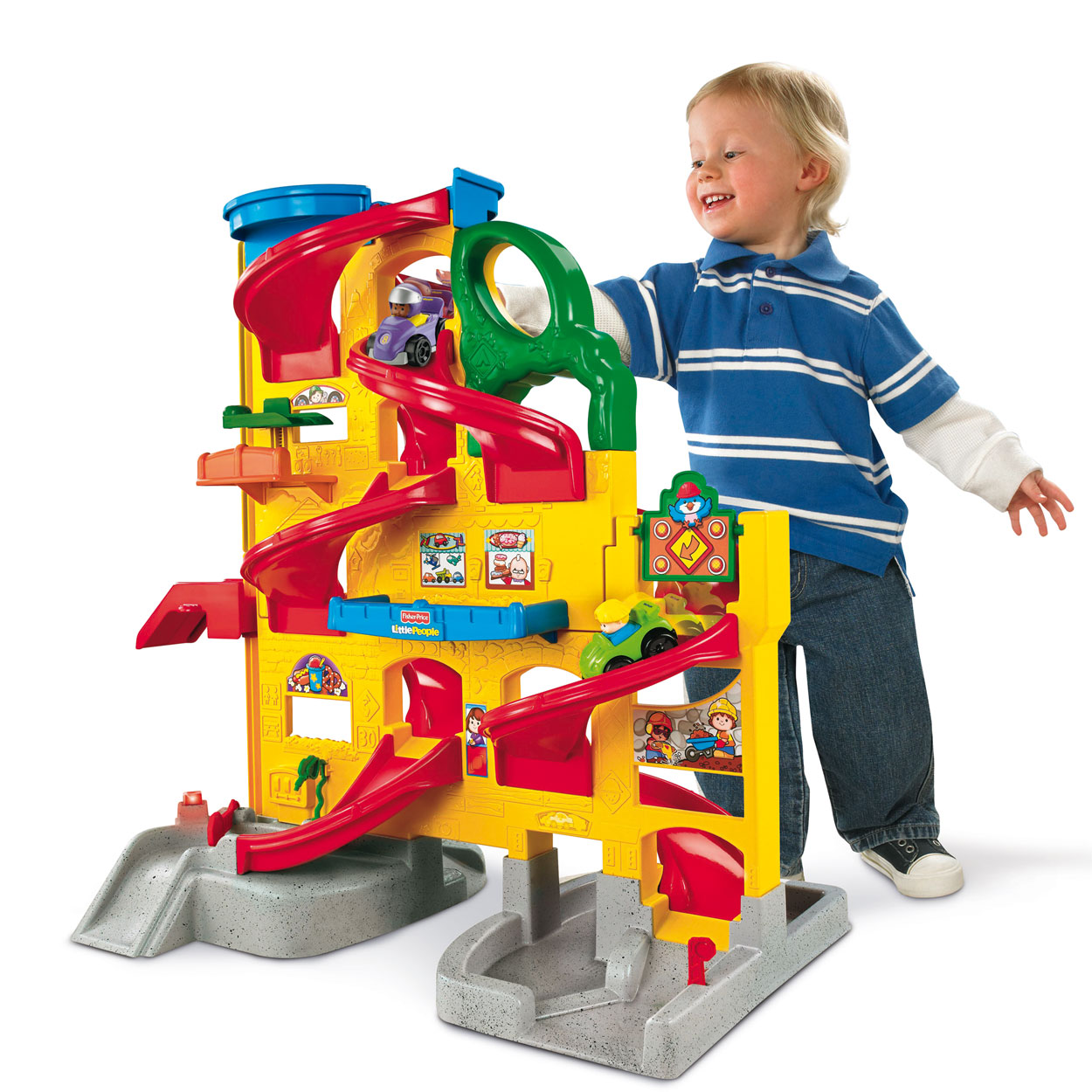 Fisher price little people garage fisher price little for Garage a persan