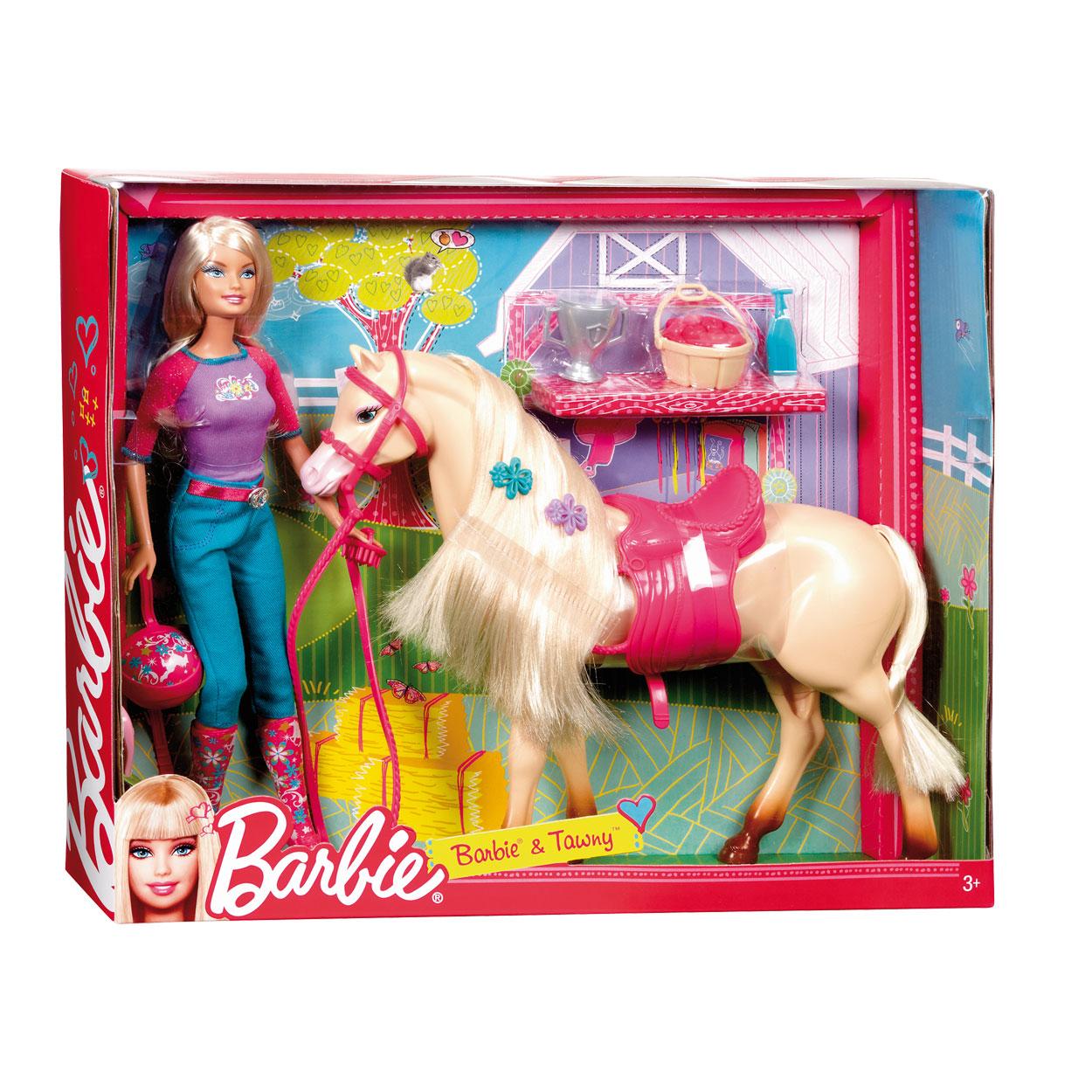 barbie met paard online kopen
