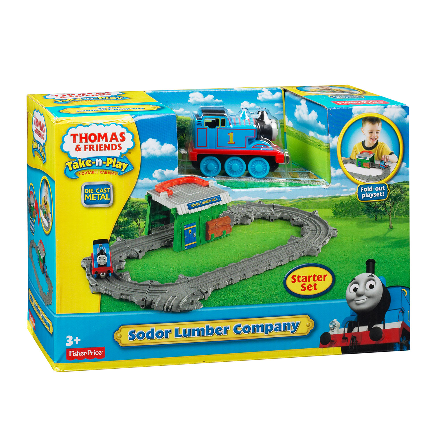 Fisher Price Thomas de Trein Draagbare Speelset