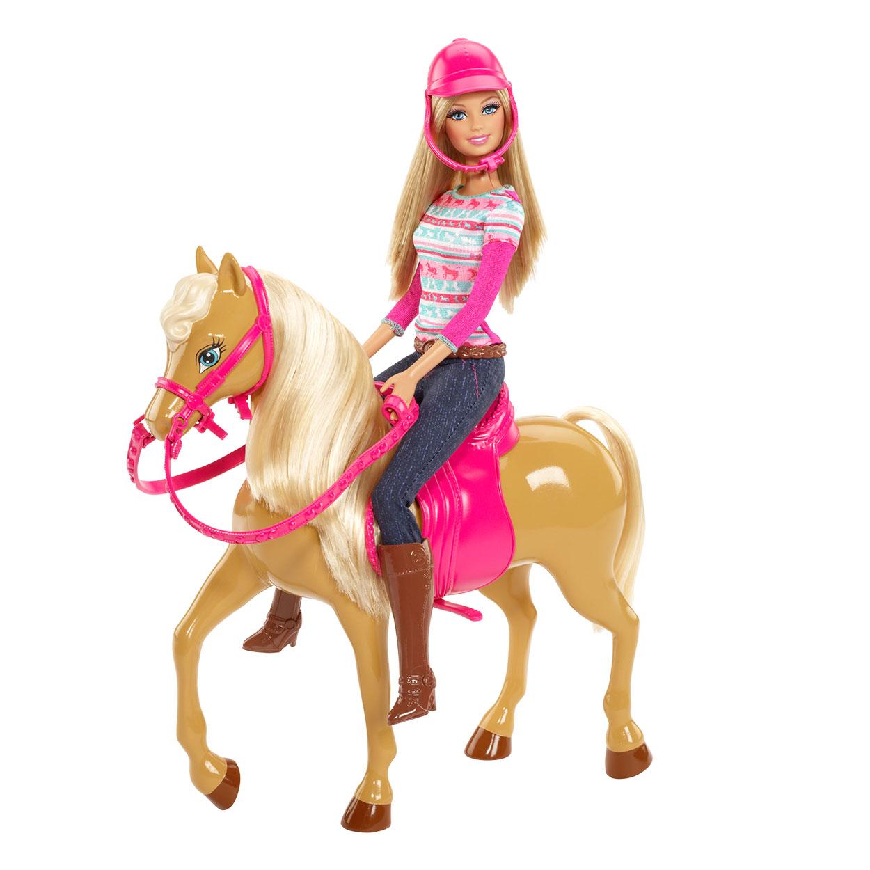 barbie met paard tawny online kopen