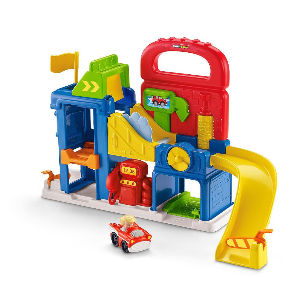 Fisher price little people garage speelset online kopen for Garage a persan