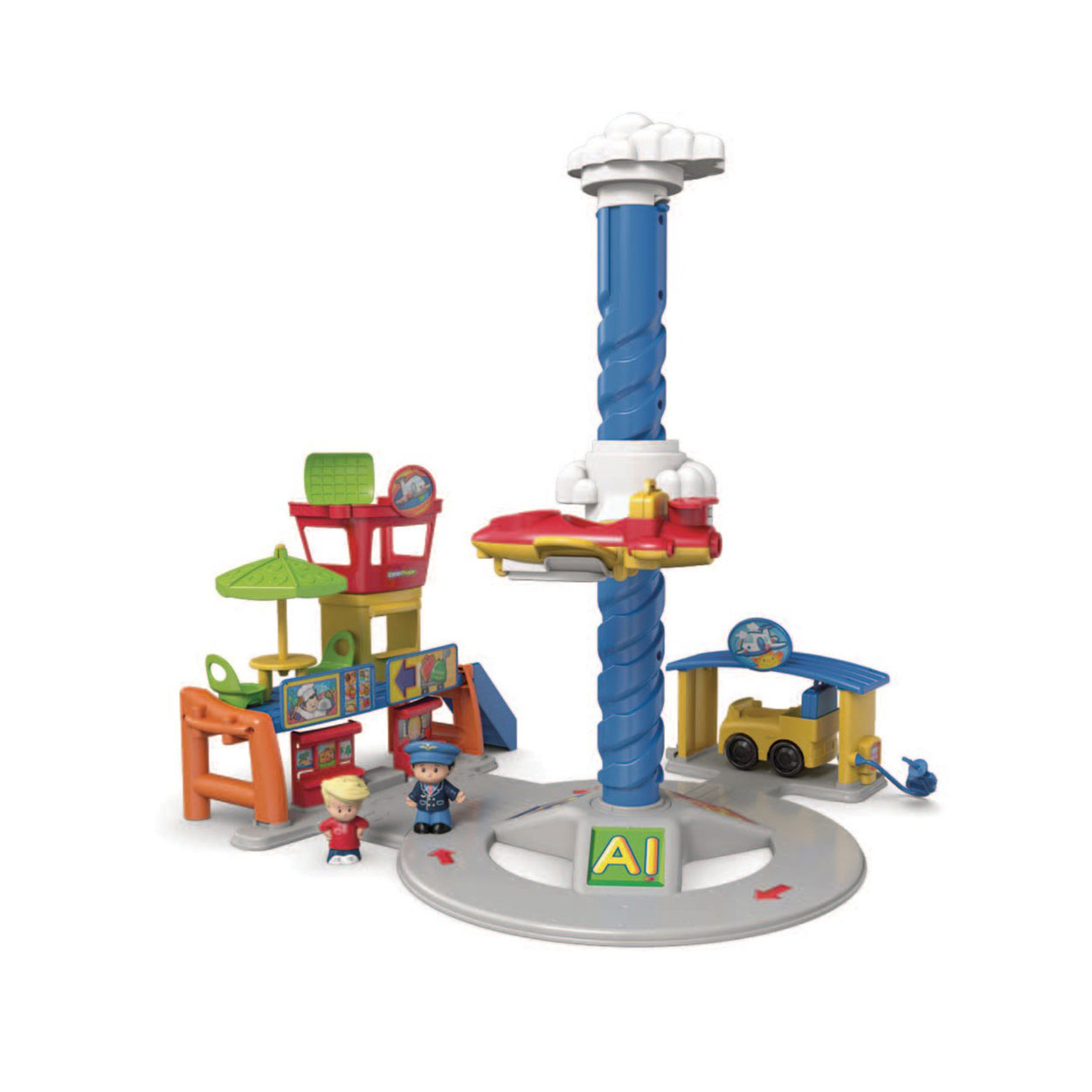 Fisher Price Little People Vliegveld