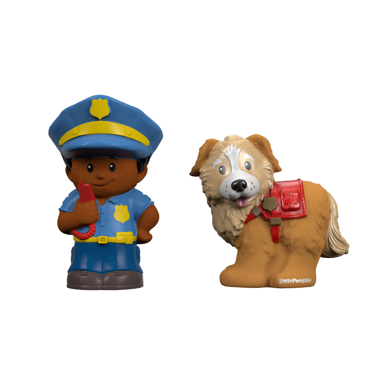 Fisher Price Little People - Politie en Reddingshond