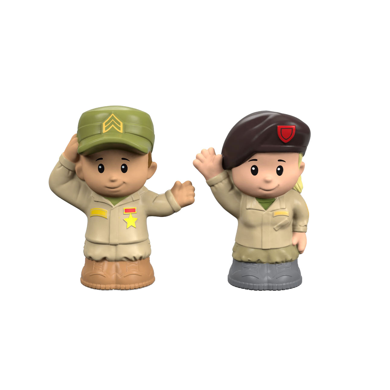 Fisher Price Little People - Militairen