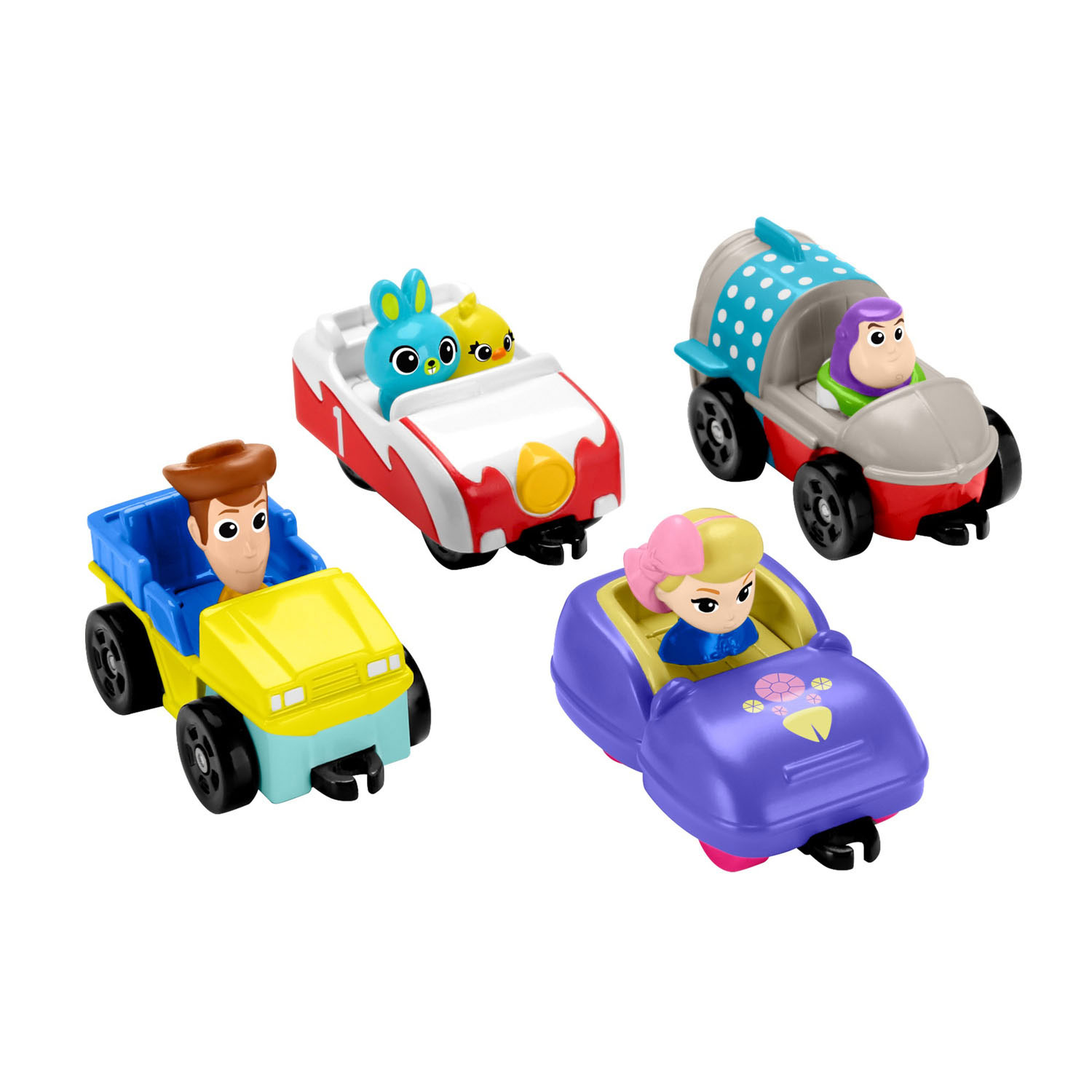 Fisher Price Toy Story 4 - Carnival Cruisers