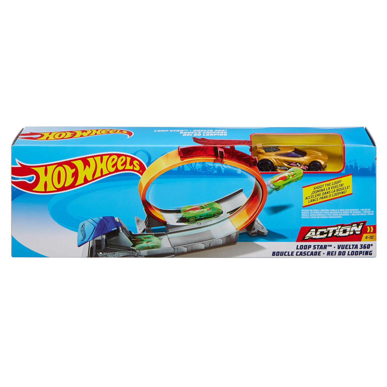 Hot Wheels Classic Stunt Set - Loop Star