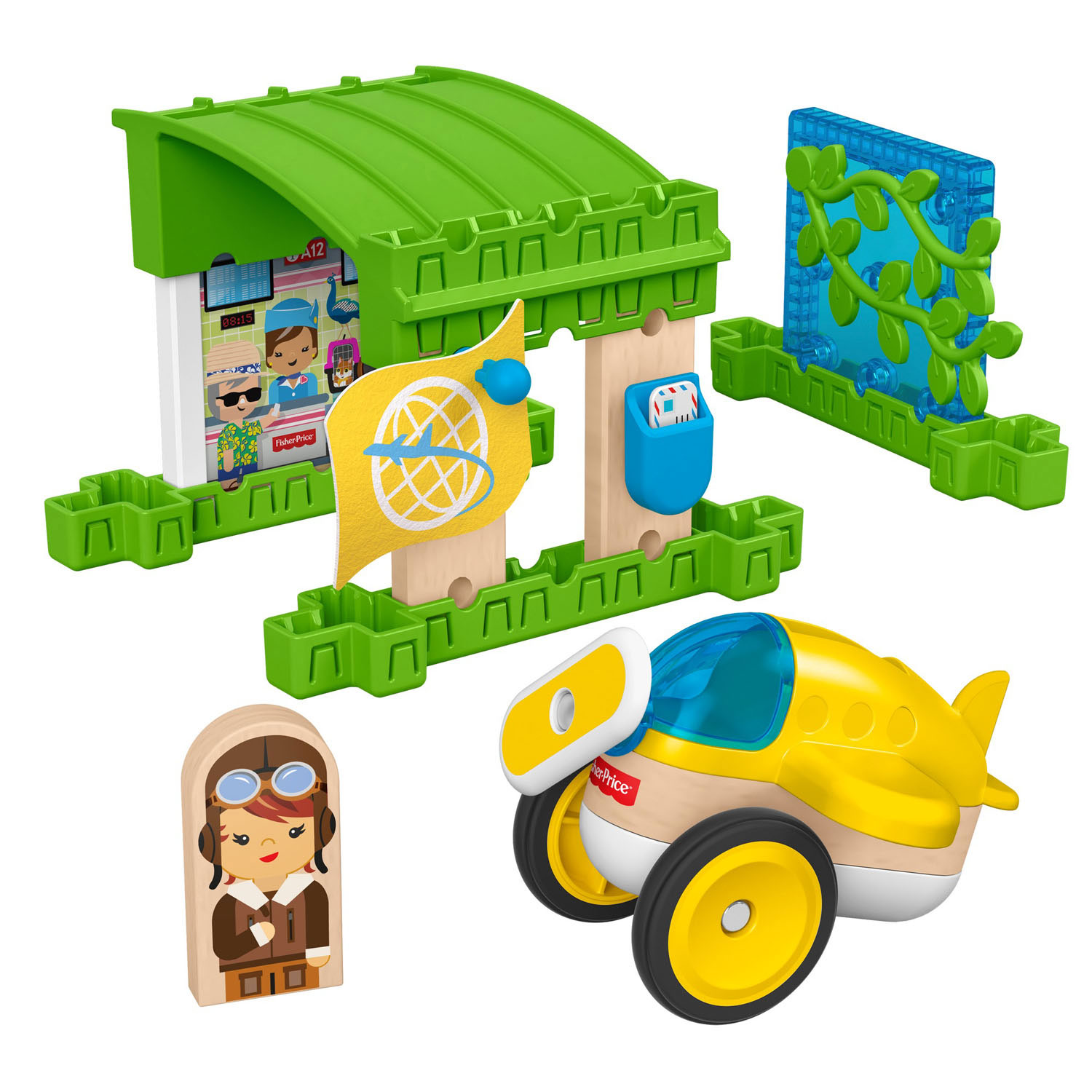 Fisher Price Wonder Makers - Vliegveld