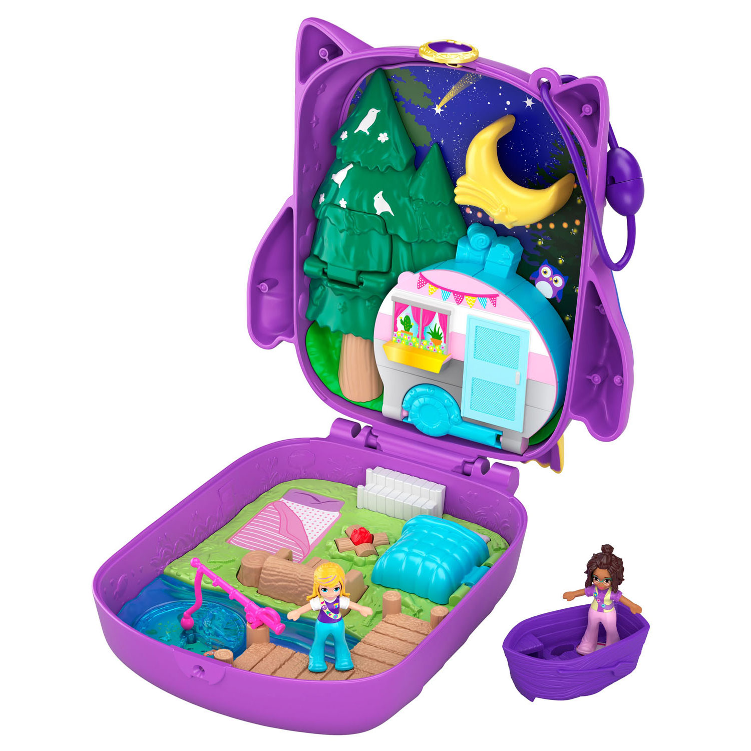 Polly Pocket Big Pocket World  - Polly & Shani Uil Kamp