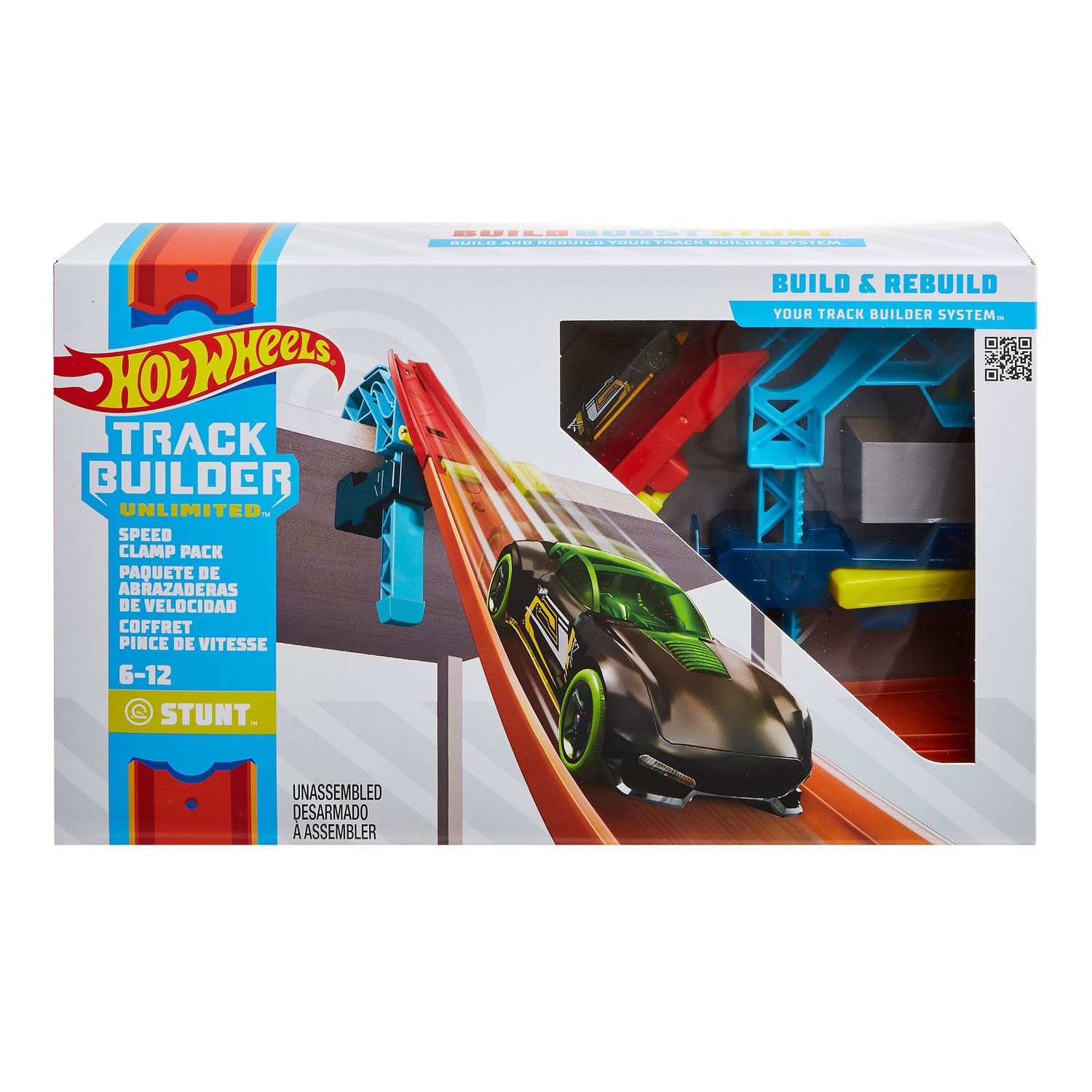 Hot Wheels Track Builder - Snelle afdalingset