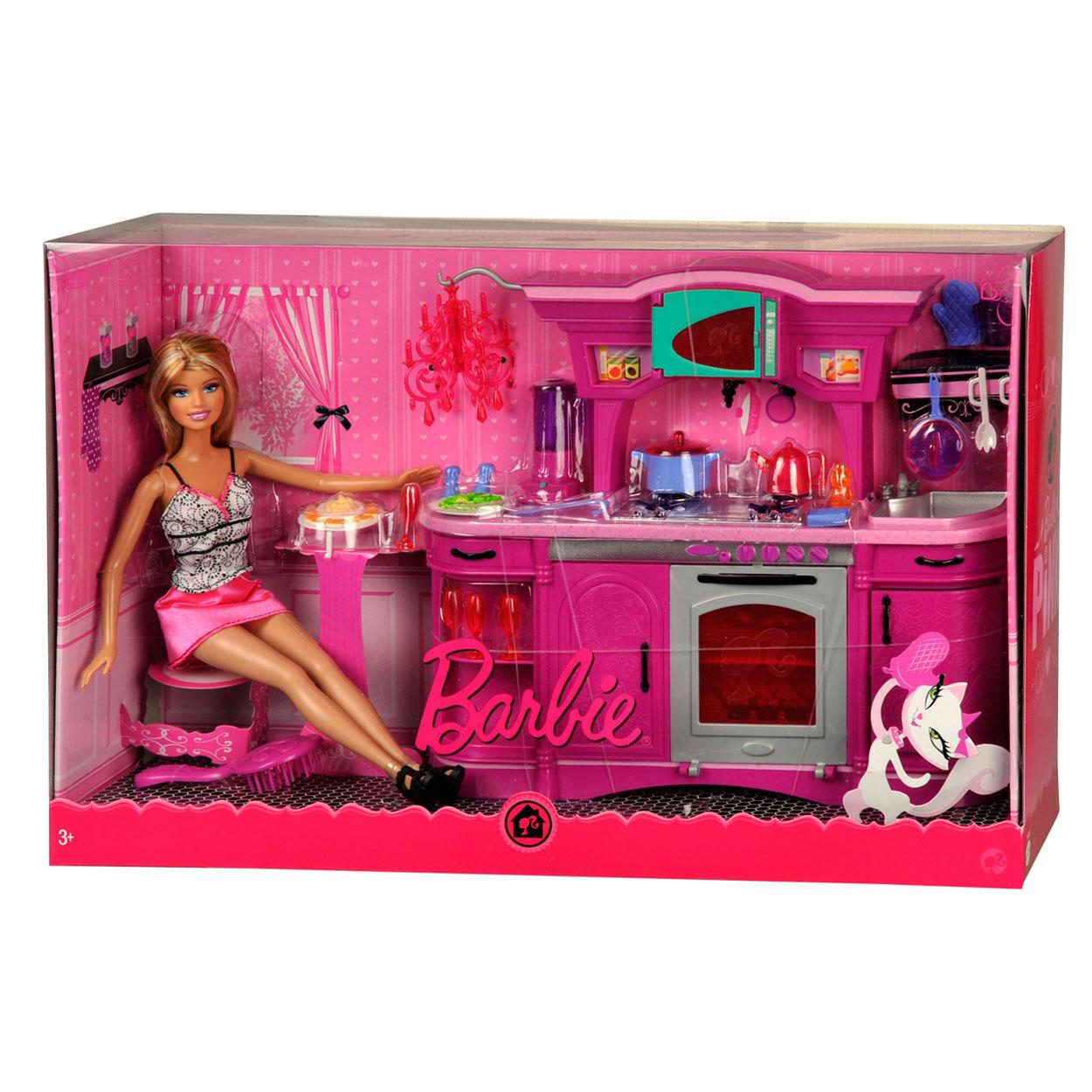 Barbie Meubels en Pop