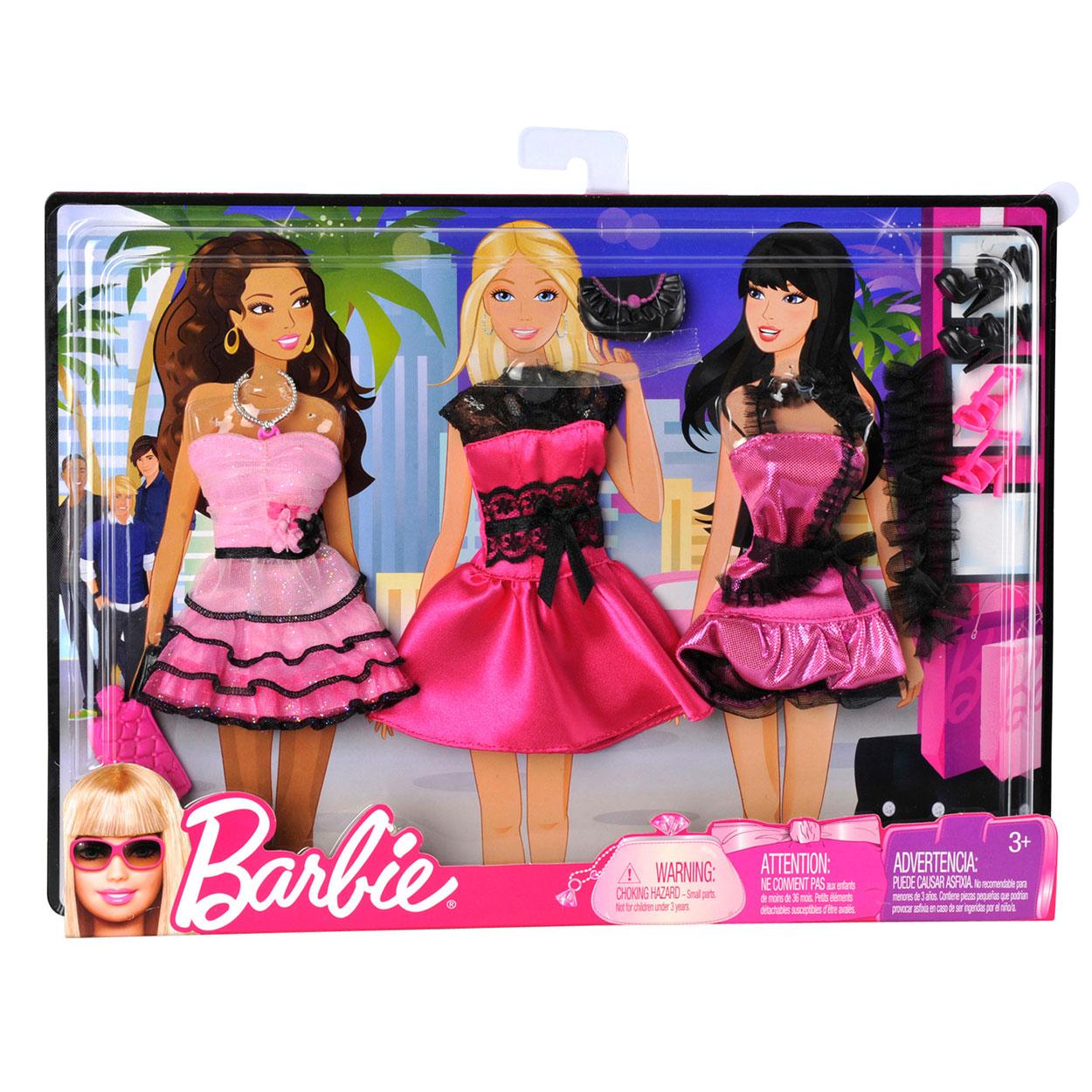 barbie kledingset online kopen. Black Bedroom Furniture Sets. Home Design Ideas
